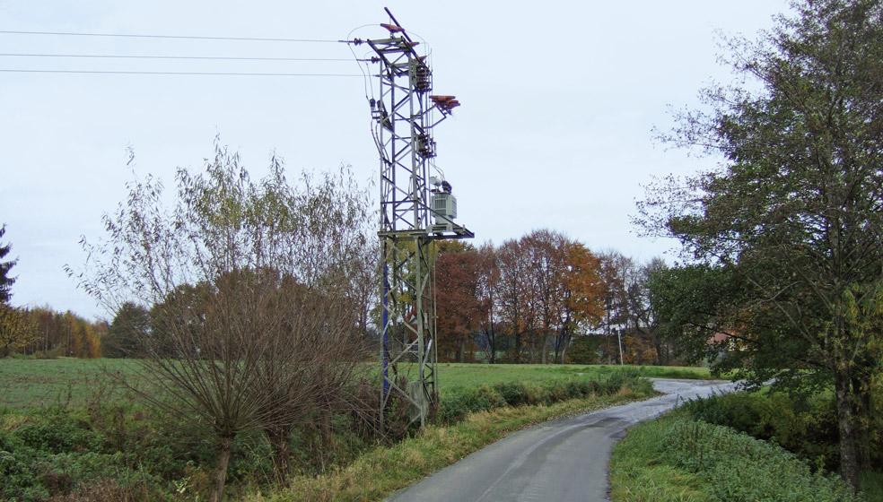 Sturmschäden an den Freileitungen sorgten im Sommer für kurzfristige Stromausfälle.
