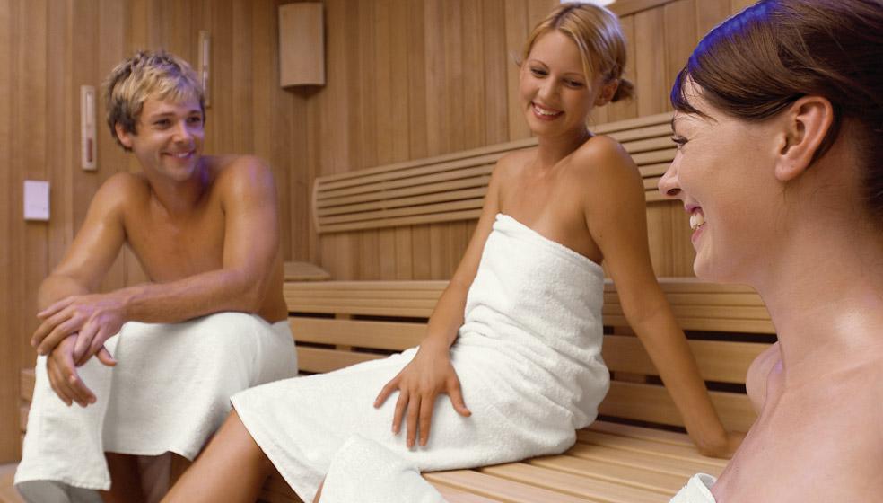 Sauna: Grün und sparsam