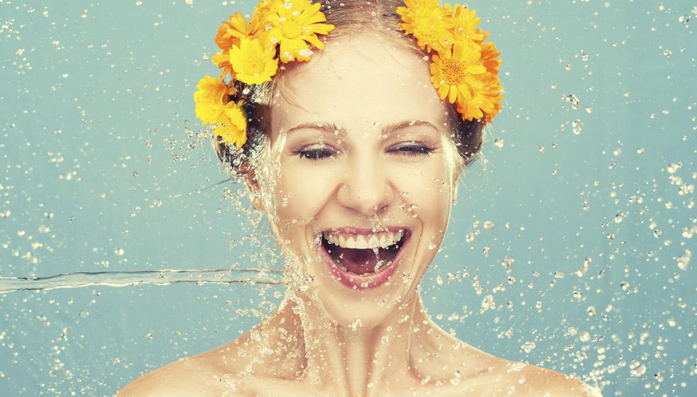 Sparen durch Duschen